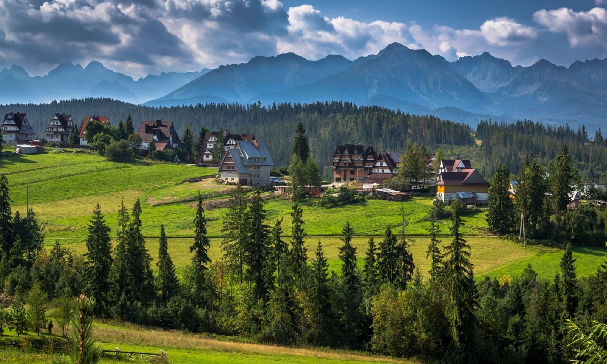 Bukowina Tatrzańska in the Tatra Mountains